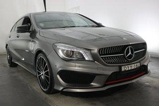 2015 Mercedes-Benz CLA-Class X117 806MY CLA250 Shooting Brake DCT 4MATIC Sport Grey 7 Speed.