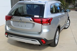 2020 Mitsubishi Outlander ZL MY20 ES AWD Sterling Silver 6 Speed Constant Variable Wagon