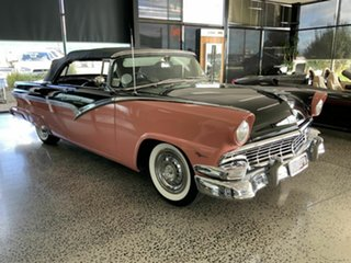 1956 Ford Fairlane Sunliner Black Convertible