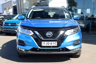2020 Nissan Qashqai J11 Series 3 MY20 ST-L X-tronic Vivid Blue 1 Speed Constant Variable Wagon.
