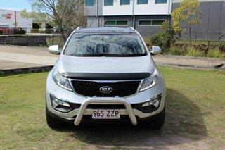 2014 Kia Sportage SL MY14 Platinum AWD Silver 6 Speed Sports Automatic Wagon.