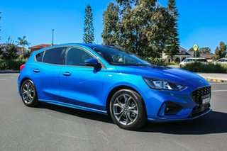 2019 Ford Focus SA 2019.75MY ST-Line Desert Island Blue 8 Speed Automatic Hatchback.