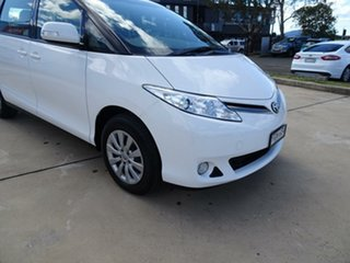 2017 Toyota Tarago ACR50R GLi White 7 Speed Constant Variable Wagon