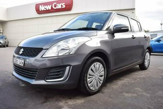 2015 Suzuki Swift FZ MY15 GL Grey 4 Speed Automatic Hatchback