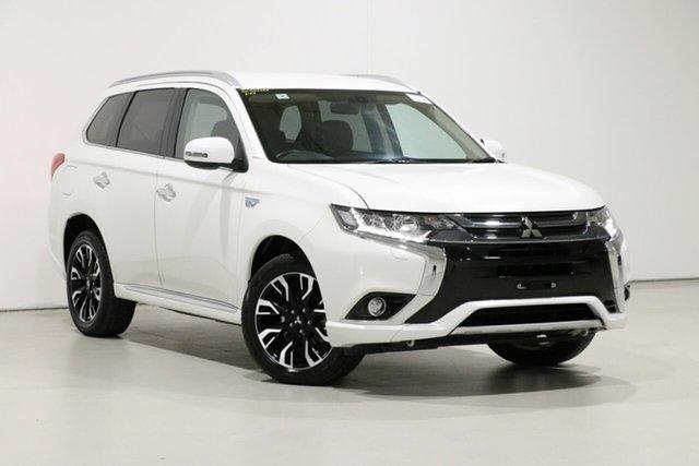 Used Mitsubishi Outlander ZK MY18 LS PHEV, 2018 Mitsubishi Outlander ZK MY18 LS PHEV White 1 Speed Automatic Wagon