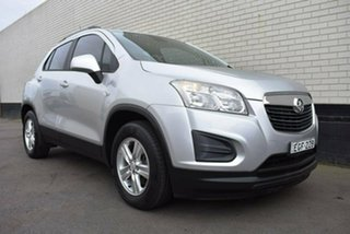2013 Holden Trax TJ MY14 LS Silver 6 Speed Automatic Wagon.