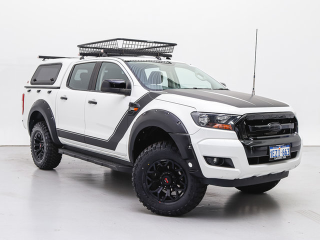 Used Ford Ranger PX MkII XL 3.2 (4x4), 2015 Ford Ranger PX MkII XL 3.2 (4x4) White 6 Speed Automatic Crew Cab Chassis