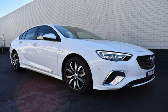 Used Holden Commodore ZB MY18 RS Liftback AWD, 2018 Holden Commodore ZB MY18 RS Liftback AWD White 9 Speed Sports Automatic Liftback
