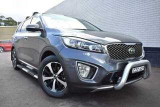 2015 Kia Sorento UM MY16 SLi Grey 6 Speed Sports Automatic Wagon