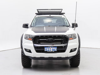 2015 Ford Ranger PX MkII XL 3.2 (4x4) White 6 Speed Automatic Cab Chassis.