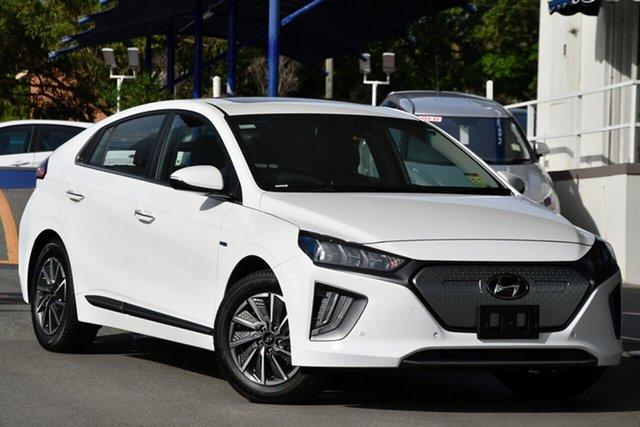 New Hyundai Ioniq AE.3 MY20 electric Premium Nailsworth, 2020 Hyundai Ioniq AE.3 MY20 electric Premium Polar White 1 Speed Reduction Gear Fastback