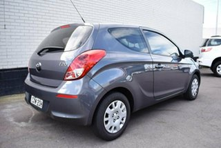 2014 Hyundai i20 PB MY14 Active Grey 6 Speed Manual Hatchback