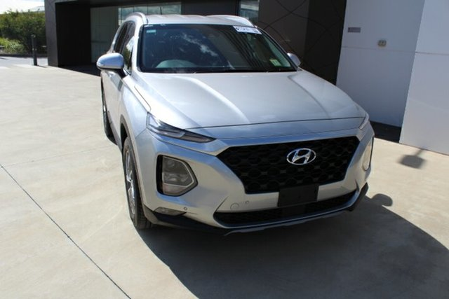 Demo Hyundai Santa Fe TM.2 MY20 Active X Tuggerah, 2020 Hyundai Santa Fe TM.2 MY20 Active X Typhoon Silver 8 Speed Sports Automatic Wagon