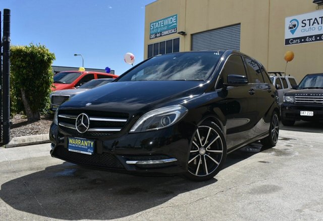 Used Mercedes-Benz B200 246 MY13 CDI BE Capalaba, 2013 Mercedes-Benz B200 246 MY13 CDI BE Black 7 Speed Auto Direct Shift Hatchback