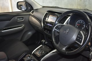 2015 Mitsubishi Triton MQ MY16 GLS (4x4) Grey 5 Speed Automatic Dual Cab Utility.