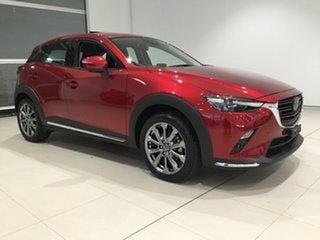 2019 Mazda CX-3 DK4W7A Akari SKYACTIV-Drive i-ACTIV AWD LE Soul Red 6 Speed Sports Automatic Wagon.