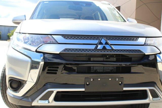 New Mitsubishi Outlander ZL MY20 ES AWD, 2020 Mitsubishi Outlander ZL MY20 ES AWD Sterling Silver 6 Speed Constant Variable Wagon