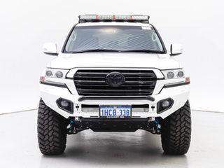 2019 Toyota Landcruiser VDJ200R LC200 GXL (4x4) White 6 Speed Automatic Wagon.