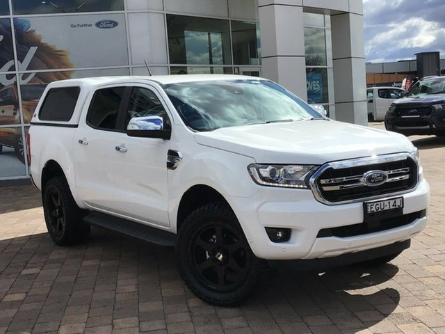 Used Ford Ranger PX MkIII 2019.00MY XLT, 2019 Ford Ranger PX MkIII 2019.00MY XLT White 6 Speed Sports Automatic Double Cab Pick Up