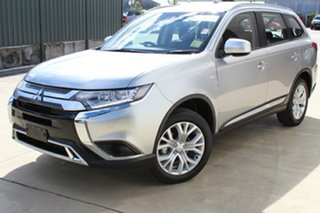 2020 Mitsubishi Outlander ZL MY20 ES AWD Sterling Silver 6 Speed Constant Variable Wagon.