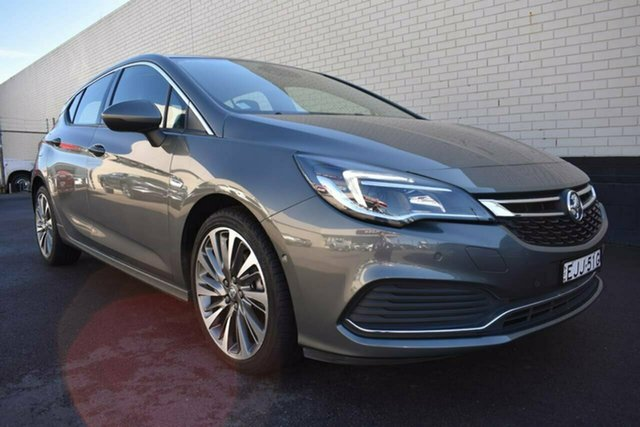 Used Holden Astra BK MY18.5 RS-V, 2018 Holden Astra BK MY18.5 RS-V Grey 6 Speed Sports Automatic Hatchback