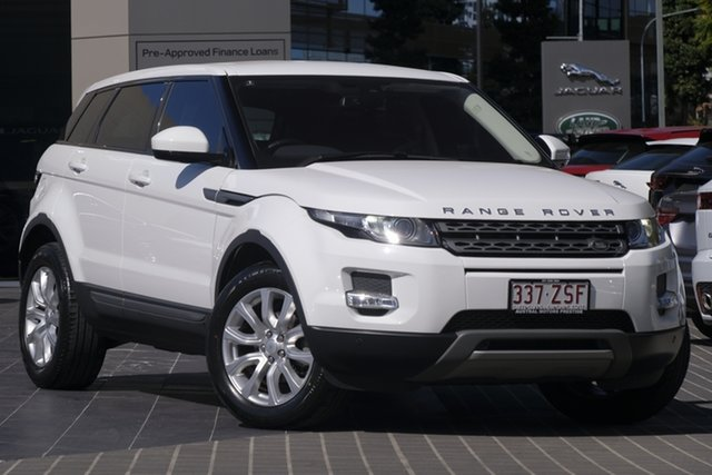 Used Land Rover Range Rover Evoque L538 MY16 TD4 150 Pure, 2015 Land Rover Range Rover Evoque L538 MY16 TD4 150 Pure White 9 Speed Sports Automatic Wagon