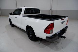 2016 Toyota Hilux GUN123R SR Extra Cab 4x2 White 5 Speed Manual Utility
