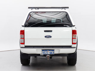 2015 Ford Ranger PX MkII XL 3.2 (4x4) White 6 Speed Automatic Cab Chassis