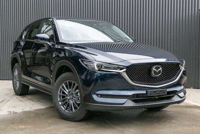 New Mazda CX-5 KF4WLA Maxx SKYACTIV-Drive i-ACTIV AWD Sport, 2020 Mazda CX-5 KF4WLA Maxx SKYACTIV-Drive i-ACTIV AWD Sport Deep Crystal Blue 6 Speed