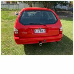 2008 Ford Falcon BF Mk III XT Red 4 Speed Sports Automatic Wagon.