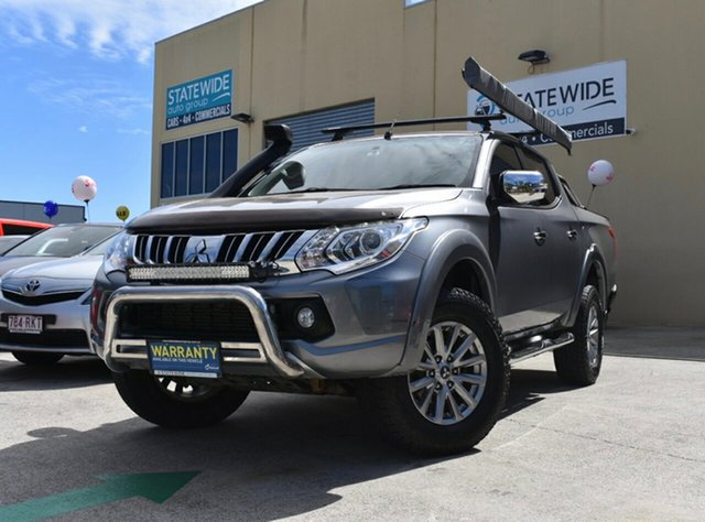 Used Mitsubishi Triton MQ MY16 GLS (4x4), 2015 Mitsubishi Triton MQ MY16 GLS (4x4) Grey 5 Speed Automatic Dual Cab Utility