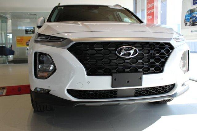 New Hyundai Santa Fe TM.2 MY20 Active X, 2020 Hyundai Santa Fe TM.2 MY20 Active X White Cream 8 Speed Sports Automatic Wagon