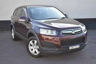 2014 Holden Captiva CG MY14 7 LS Maroon 6 Speed Sports Automatic Wagon.