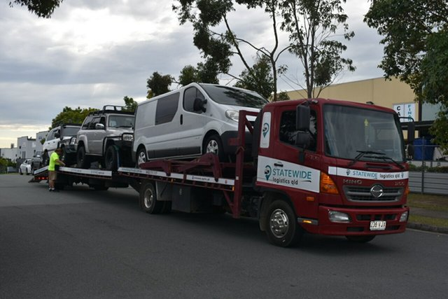 Used Hino 500 Capalaba, 2014 Hino 500 FD1124 4 Car Carrier Tow Truck Car Transporters
