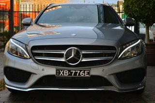 2016 Mercedes-Benz C-Class S205 806+056MY C250 Estate 7G-Tronic + Grey 7 Speed Sports Automatic.