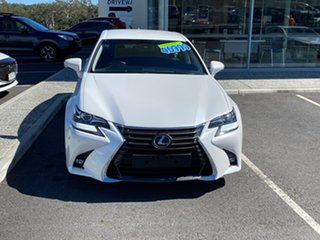 2016 Lexus GS ARL10R GS200t Luxury White 8 Speed Sports Automatic Sedan.