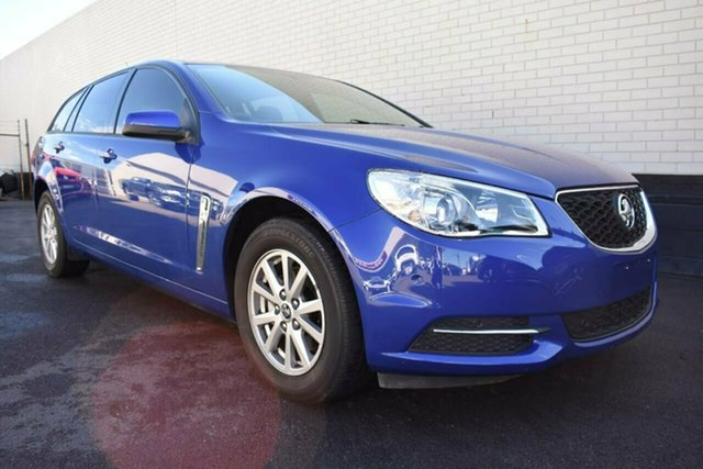 Used Holden Commodore VF II MY16 Evoke Sportwagon, 2016 Holden Commodore VF II MY16 Evoke Sportwagon Blue 6 Speed Sports Automatic Wagon