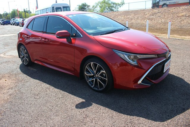 Used Toyota Corolla Mzea12R ZR, 2018 Toyota Corolla Mzea12R ZR Volcanic Red 10 Speed Automatic Hatchback
