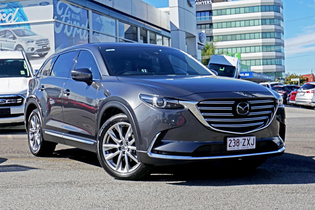 Used Mazda CX-9 TC Azami SKYACTIV-Drive, 2018 Mazda CX-9 TC Azami SKYACTIV-Drive Grey 6 Speed Sports Automatic Wagon