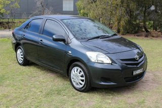 2007 Toyota Yaris NCP93R YRS Grey 4 Speed Automatic Sedan