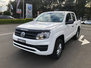 2020 Volkswagen Amarok 2H MY20 TDI420 4MOTION Perm Core White 8 Speed Automatic Utility