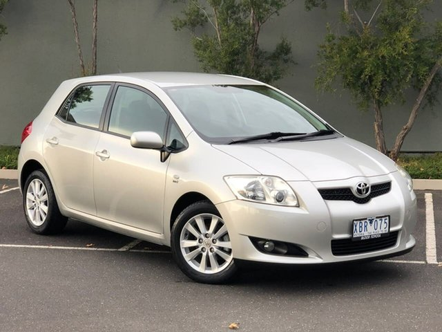 Used Toyota Corolla ZRE152R Conquest Templestowe, 2009 Toyota Corolla ZRE152R Conquest Silver 4 Speed Automatic Hatchback