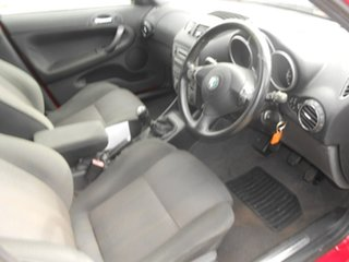 2003 Alfa Romeo 147 MY2002 Twin Spark Red 5 Speed Manual Hatchback