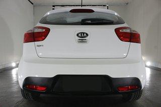 2013 Kia Rio UB MY13 S White 4 Speed Sports Automatic Hatchback