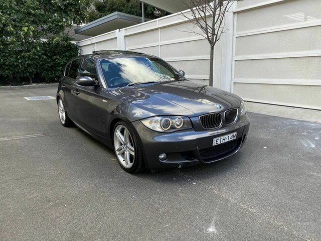 Used BMW 1 Series E87 130i Sport, 2006 BMW 1 Series E87 130i Sport Grey 6 Speed Automatic Hatchback