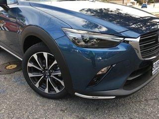 2020 Mazda CX-3 DK2W7A sTouring SKYACTIV-Drive FWD Eternal Blue 6 Speed Sports Automatic Wagon.