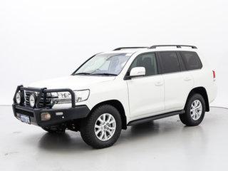 2017 Toyota Landcruiser VDJ200R MY16 VX (4x4) White 6 Speed Automatic Wagon.