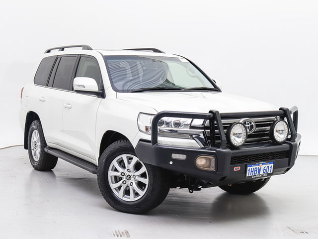 Used Toyota Landcruiser VDJ200R MY16 VX (4x4), 2017 Toyota Landcruiser VDJ200R MY16 VX (4x4) White 6 Speed Automatic Wagon