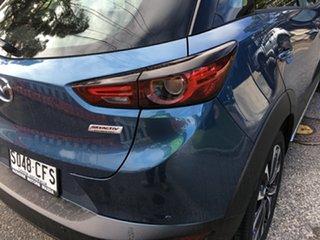 2020 Mazda CX-3 DK2W7A sTouring SKYACTIV-Drive FWD Eternal Blue 6 Speed Sports Automatic Wagon