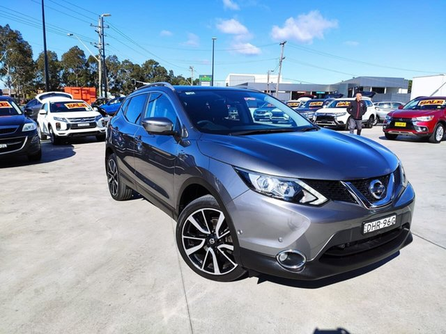Used Nissan Qashqai J11 TI, 2016 Nissan Qashqai J11 TI Grey 1 Speed Constant Variable Wagon